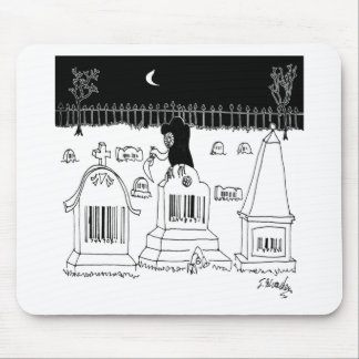 Barcode Cartoon 7019 Mouse Pad