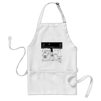Barcode Cartoon 7019 Standard Apron