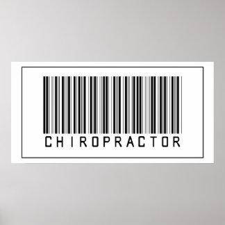Barcode Chiropractor Print