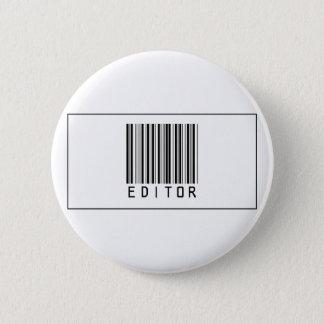 Barcode Editor 6 Cm Round Badge