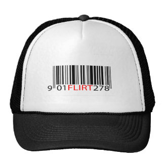BarCode- Flirt Red Trucker Hats