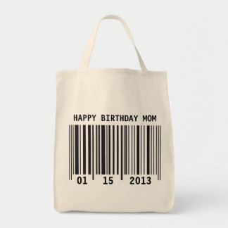 Barcode Happy Birthday bag