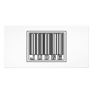 Barcode Judge Photo Cards