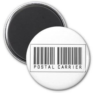 Barcode Postal Carrier Fridge Magnets