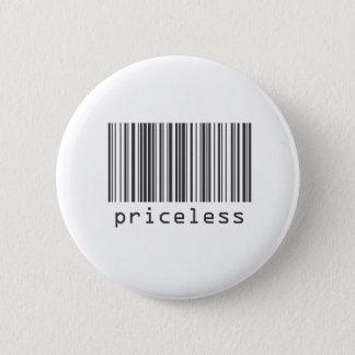 Barcode - Priceless 6 Cm Round Badge