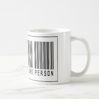 Barcode Public Relations Person Coffee Mug