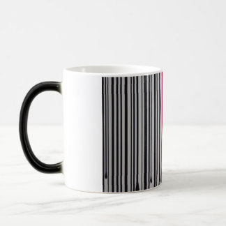 Barcode Red Intersect Morphing Mug