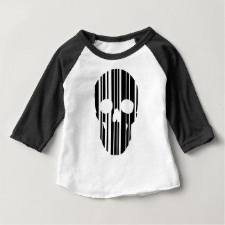 Barcode Skull Baby T-Shirt