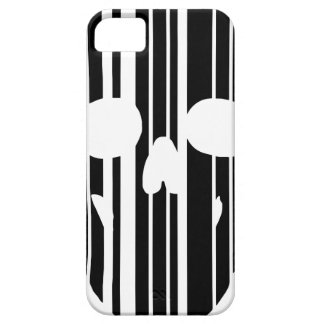 Barcode Skull iPhone 5 Case