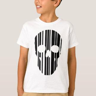 Barcode Skull T-Shirt