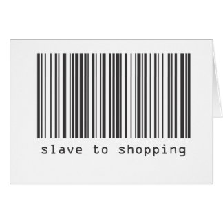 Barcode - Slave to Shopping Card