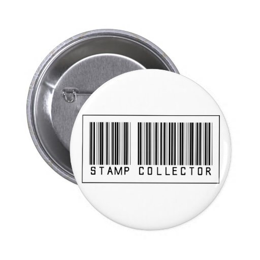 Barcode Stamp Collector Buttons