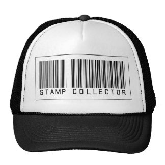 Barcode Stamp Collector Mesh Hat