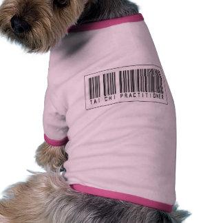 Barcode Tai Chi Practitioner Doggie Tshirt