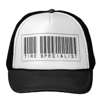 Barcode Tire Specialist Cap