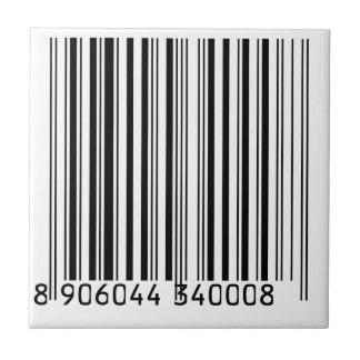 Barcodes Ceramic Tile