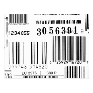 Barcodes Postcard