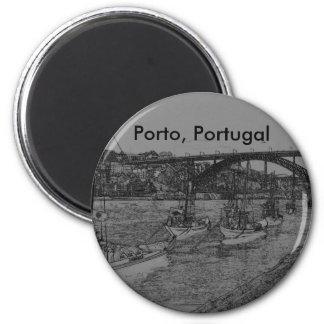 Barcos, Porto, Portugal Magnet
