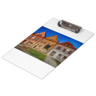 Bardejov central place clipboard