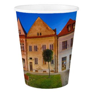 Bardejov central place paper cup