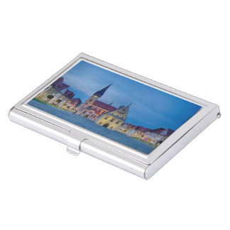 Bardejov in Slovakia Business Card Holder