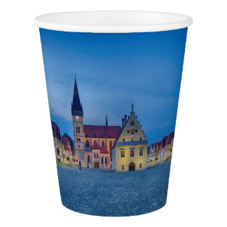Bardejov in Slovakia Paper Cup