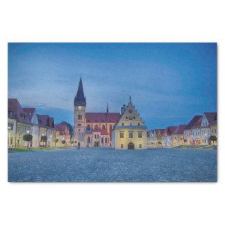 Bardejov in Slovakia Tissue Paper