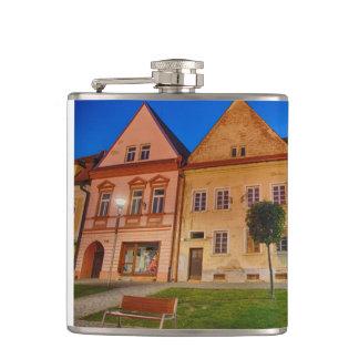 Bardejov is a city of Slovakia Hip Flask