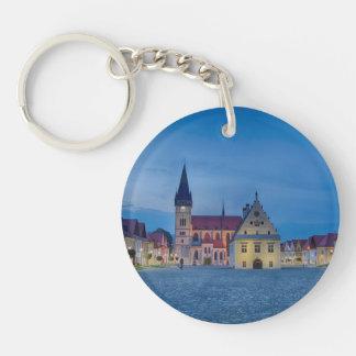 Bardejov is a city of Slovakia Key Ring