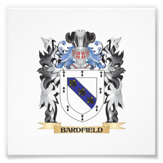 Bardfield Coat of Arms - Family Crest Photo Print