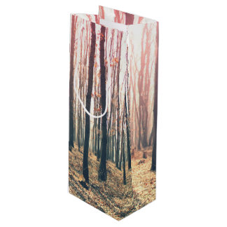 Bare forest wine gift bag