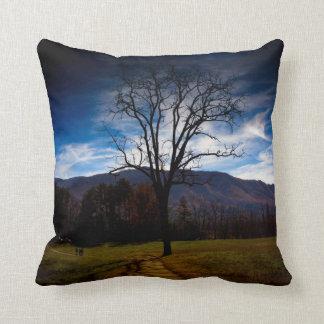 """Bare Tree"" American MoJo Pillows Throw Cushion"