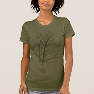 Bare Tree Women s Army T-shirt