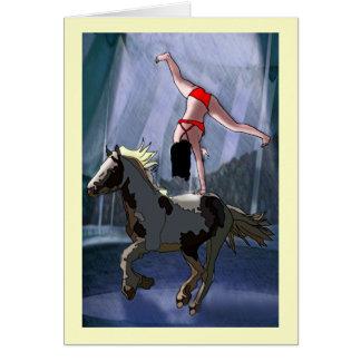 Bareback Rider Card
