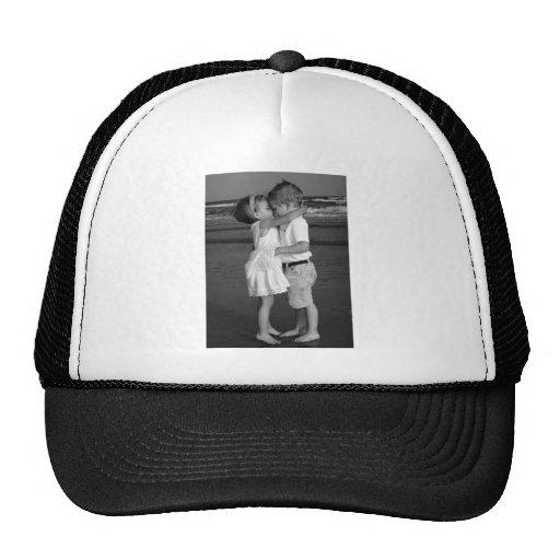 Barefoot 1st Kiss Mesh Hats