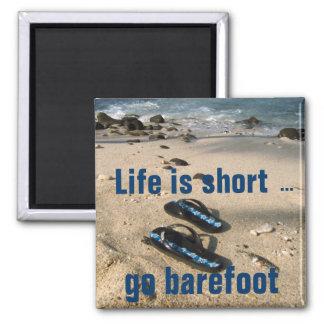 Barefoot  Beach Inspiration magnet