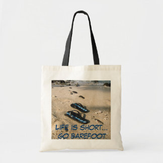 Barefoot  Beach Inspiration Tote Bag
