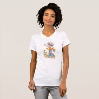 """Barefoot Belle"" American Apparel T-Shirt White"