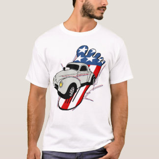 Barefoot Gas Pedal Willy's T-Shirt