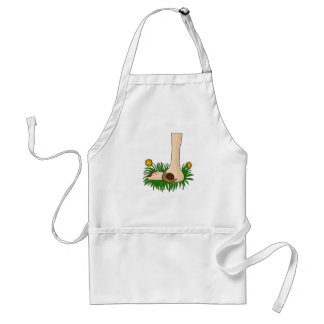 Barefoot in the grass standard apron