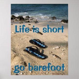 Barefoot  Inspiration poster