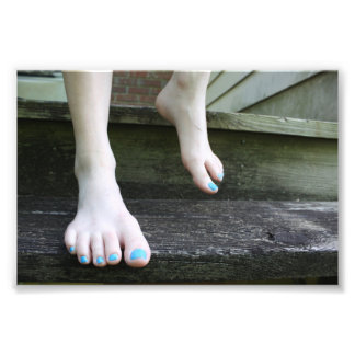 Barefoot on the Porch Photo Print