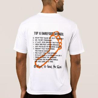 Barefoot Top 10 T-shirt