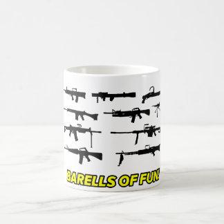 Barells of Fun- Gun design Basic White Mug