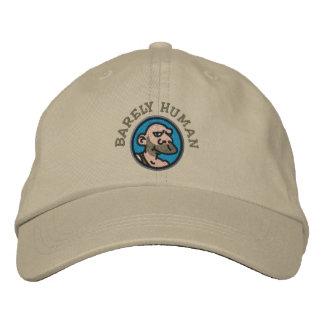 BARELY HUMAN BASEBALL CAP