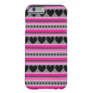 Barely There iPhone Case With Pretty Heart Pattern