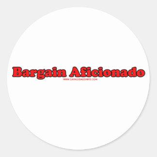 Bargain Aficionado Stickers