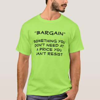 """Bargain"" Definition Shirt"