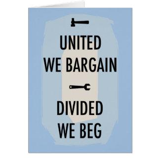 Bargain or Beg III Card