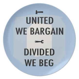 Bargain or Beg III Plate